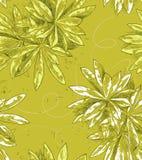 Bloemen uitstekend naadloos patroon Stock Afbeelding