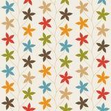 Bloemen Uitstekend Naadloos Patroon vector illustratie