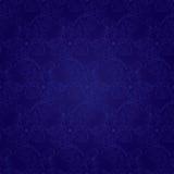 Bloemen uitstekend naadloos patroon op een violette achtergrond Royalty-vrije Stock Foto