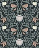 Bloemen uitstekend naadloos patroon voor retro behang enchanted royalty-vrije illustratie