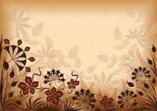 Bloemen uitstekende achtergrond Royalty-vrije Stock Afbeelding