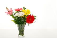 bloemen vaas Stock Foto's