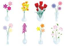 Bloemen in vaas Royalty-vrije Stock Fotografie
