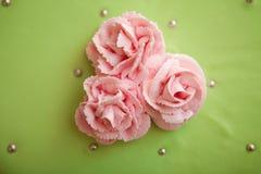 Bloemen van de cake Royalty-vrije Stock Afbeelding