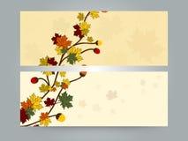 Bloemen van de websitekopbal of banner ontwerp stock illustratie
