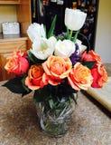 bloemen van liefde Stock Fotografie