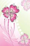 Bloemen vector Royalty-vrije Stock Foto's