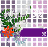Bloemen Vector stock illustratie