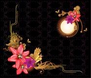 Bloemen vector Royalty-vrije Stock Afbeeldingen