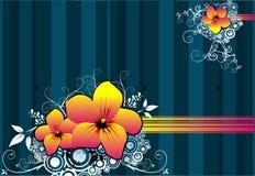 Bloemen vector Royalty-vrije Stock Fotografie