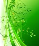 Bloemen vector als achtergrond Stock Afbeeldingen