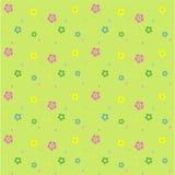 Bloemen vector naadloos patroon Stock Afbeeldingen