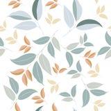 Bloemen vector schoon patroon met eenvoudig Stock Afbeelding