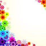 Bloemen vectorachtergrond Royalty-vrije Stock Fotografie