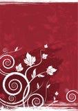 Bloemen vectorachtergrond Stock Foto
