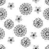 Bloemen, vectorillustratie Royalty-vrije Stock Afbeeldingen