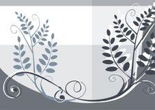 Bloemen vectorontwerpachtergrond Royalty-vrije Stock Foto's