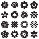 Bloemen vectorreeks, EPS10 Royalty-vrije Stock Afbeeldingen