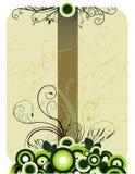 Bloemen vectorsamenstelling Stock Foto