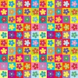 Bloemen verpakkend document naadloos patroon Royalty-vrije Stock Afbeelding