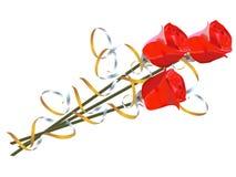 Bloemen voor geliefd stock illustratie
