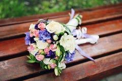 Bloemen voor huwelijk Stock Foto