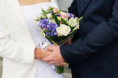 Bloemen voor huwelijk Royalty-vrije Stock Afbeelding