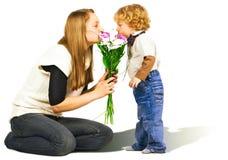 Bloemen voor Mamma Royalty-vrije Stock Foto