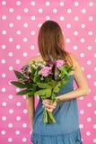 Bloemen voor moeder Stock Foto
