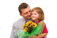 Bloemen voor u royalty-vrije stock fotografie