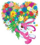 Bloemen voor u Stock Afbeelding