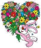 Bloemen voor u Royalty-vrije Stock Afbeeldingen