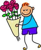 Bloemen voor u Stock Afbeeldingen