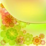 Bloemenachtergrond vector illustratie