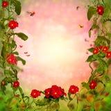 Bloemenachtergrond Stock Fotografie