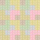 Bloemenachtergrond met takken naadloos patroon Royalty-vrije Stock Foto