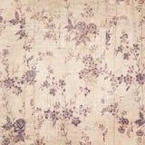 Bloemenachtergrond met tekst Stock Foto