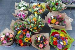 Bloemenboeketten Royalty-vrije Stock Afbeelding