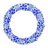 Bloemencirkel Royalty-vrije Stock Fotografie