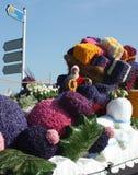 Bloemencorso Bollenstreek один из парадов цветка в Нидерландах и одно самых больших вариантов мира Событие Стоковые Фотографии RF