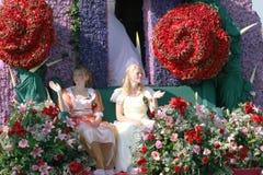 Bloemencorso Bollenstreek один из парадов цветка в Нидерландах и одно самых больших вариантов мира Событие Стоковая Фотография RF