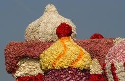 Bloemencorso Bollenstreek один из парадов цветка в Нидерландах и одно самых больших вариантов мира Событие Стоковое Фото