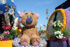 Bloemencorso Bollenstreek is one of the flower parades in the Netherlands and one of the largest editions of the world. The event Stock Images