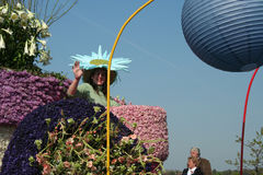 Bloemencorso Bollenstreek is one of the flower parades in the Netherlands and one of the largest editions of the world. The event Stock Image