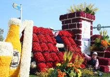 Bloemencorso Bollenstreek is one of the flower parades in the Netherlands and one of the largest editions of the world. The event Stock Photos