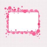 Bloemendekkingsachtergrond Stock Foto