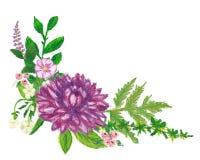 Bloemendiekroonhand met de kleurpotloden van de oliepanda wordt geschilderd Stock Fotografie
