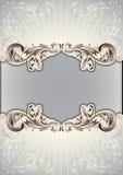Bloemendocument als achtergrond Royalty-vrije Stock Foto's