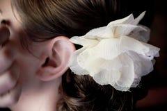 Bloemenhaardetail Stock Afbeeldingen