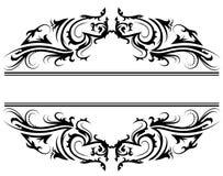 Bloemenkader 3 Royalty-vrije Stock Afbeelding